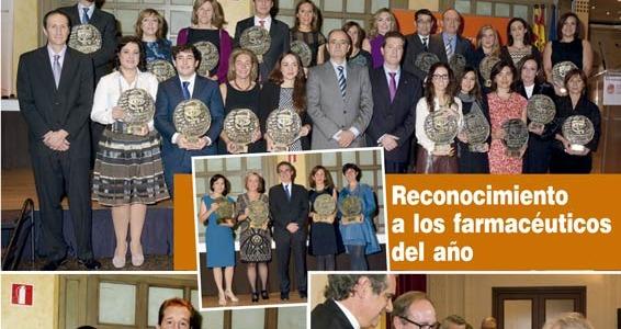 Mª Teresa Mateos - Premio Anual del Colegio Oficial de Farmacéuticos de Zaragoza